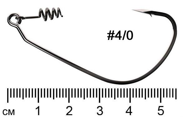 Trokar Swimbait TK140 офсетный крючок с пружиной размер 4/0