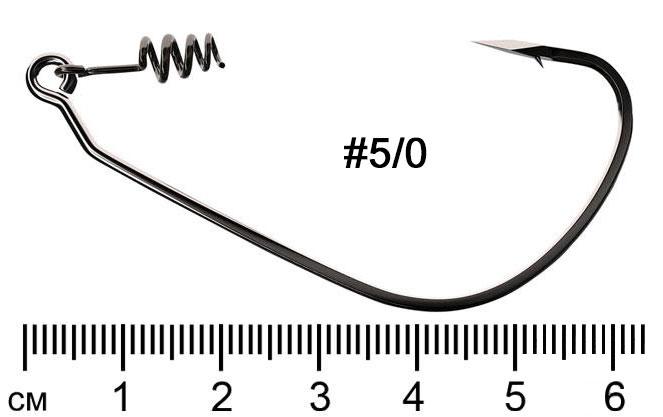 Trokar Swimbait TK140 офсетный крючок с пружиной размер 5/0