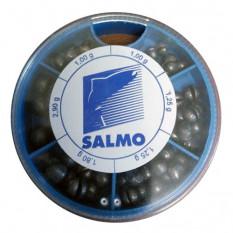 Грузила Salmo Дробинка PL 6 секций крупные (от 1 до 2,9г) 120г набор