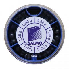 Грузила Salmo Дробинка PL 6 секций крупные (от 0,6 до 1,25г) 50г набор