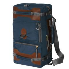 Сумка-рюкзак Aquatic С-27С с кожаными накладками (цвет синий)