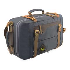 Сумка-рюкзак Aquatic С-28ТС с кожаными накладками (цвет темно-серый)