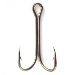 Крючок EAGLE CLAW 2376 DB №2 10шт. (загнутое жало и удлиненное цевье) Bronze