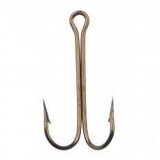 Крючок EAGLE CLAW 2957 №1/0 25шт. (длинное цевье) Bronze