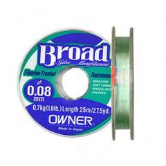 Леска Owner Broad 25m 0.12mm 1.5kg