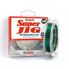 Шнур плетеный Fanatik Super Jig PE X8 100м #0.4 0.1мм 4.8кг Green