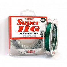 Шнур плетеный Fanatik Super Jig PE X8 100м #1.0 0.16мм 10.0кг Green
