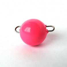 Груз «чебурашка» разборный розовый 1 гр (упаковка 5 шт.)