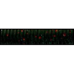 Твистер Big Hammer 5 inch Ringer Worm 234 - Black neon