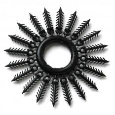 Держатель для силиконовых приманок «Ёлочка» 16 мм, 20 шт. черный