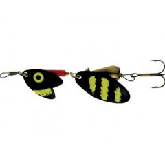 Блесна Mepps TROUT TANDEM Black/Yellow№0