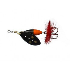 Блесна Myran Wipp 5gr Black Orange/Black