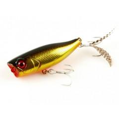 Воблер JACKALL Chubby Popper 42F 3,3g hl gold&black