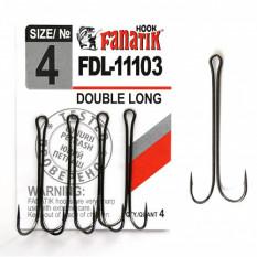Двойной крючок Fanatik FDL-11103 №4 (4 шт.)