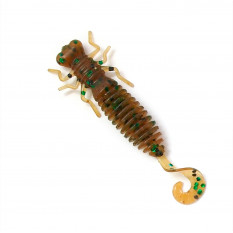 """Личинка стрекозы с хвостиком Fanatik Larva Lux 1.6"""" 4см цвет: 004 10шт."""