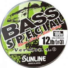 Леска Sunline Bass Special 100m Jungle Green 0.190mm 2.5kg