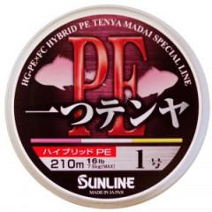 Плетёный шнур Sunline HITOTSU TENYA PE 210m #0.6/10lb
