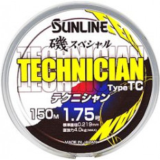 Леска Sunline ISO SP TECHNICIAN Type TC 150m Silky White 0.235mm 4.4kg