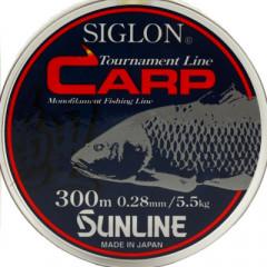 Леска Sunline SIGLON CARP 300m 0.28mm 5.5kg