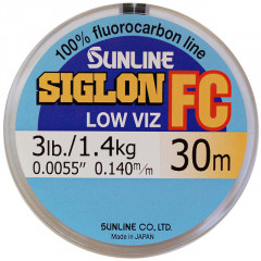 Флюорокарбон Sunline SIGLON FC 30m Clear 0.330mm 7.1kg