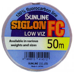 Флюорокарбон Sunline SIGLON FC 50m Clear 0.245mm 4.1kg