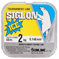 Леска Sunline SIGLON ICE 50m Clear 0.104mm 1kg