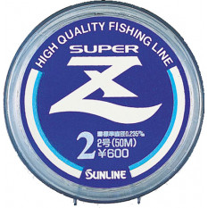 Леска Sunline SUPER Z 50m Clear 0.090mm 0.72kg