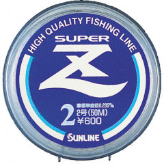Леска Sunline SUPER Z 50m Clear 0.117mm 1.28kg