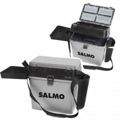Ящик рыболовный зимний Salmo 2-х ярусный (из 5-ти частей) пластиковый 39,5x24,5x38