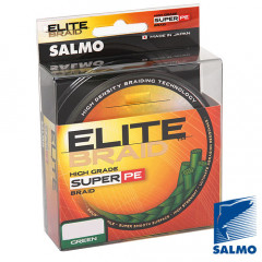 Плетеный шнур Salmo ELITE BRAID Green 125м 0,33мм 26,10кг