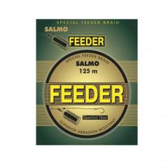Плетеный шнур Salmo FEEDER 125м 0,12мм 5,70кг
