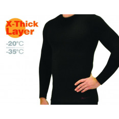 Фуфайка мужская Mottomo X-Thick Layer XL черный