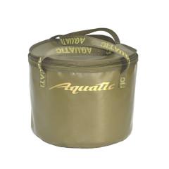 Ведро Aquatic В-05 для замешивания корма герметичное, с крышкой (25 литров, хаки)