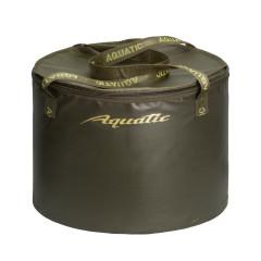 Ведро Aquatic В-07 для замешивания корма герметичное, с крышкой (75 литров, хаки)