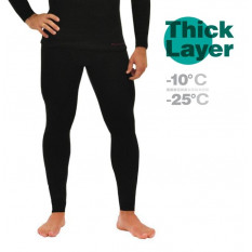 Кальсоны мужские Mottomo Thick Layer черный разм. XL