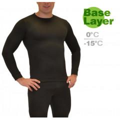 Фуфайка мужская Mottomo Base Layer XL черный