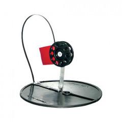 Жерлица на кругу 200 мм, диаметр катушки 63 мм