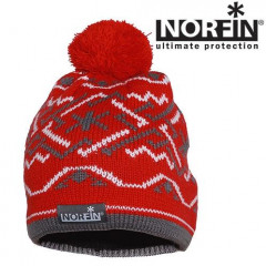 Шапка Norfin NORWAY WOMEN RED р.M