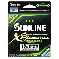 Плетёный шнур Sunline X-Plasma Dark Green 150m #2.0/20lb