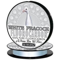 Леска Balsax White Peacock Fluorocarbon 30м 0,08