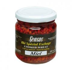 Консерв.зерна перловки Sensas WHEAT Honey/Мед 0,212л стекло