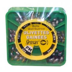 Набор скользящих грузов оливок малого размера Sensas OLIVETTE PM