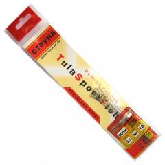 Поводки струна Тула 0,3 мм, 9 кг 10 см (упак. 10 шт.)