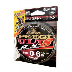 Плетёный шнур Sunline PE EGI ULT HS8 180m #0.3/2.5kg