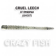Мягкая приманка Crazy Fish CRUEL LEECH 8-5.5-7-1