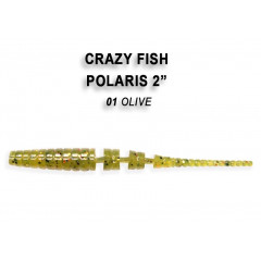 "Мягкая приманка Crazy Fish POLARIS 2"" 17-5.5-1-6"