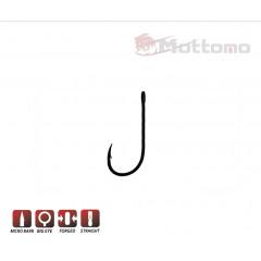 Крючок одинарный Mottomo JS-10 №10 9 шт
