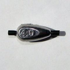 Грузило свинцовое ПУЛЯ с трубочкой 004,0г