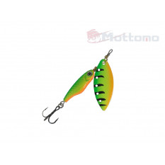 Блесна Mottomo Spin Blade #3 16g Fire Tiger