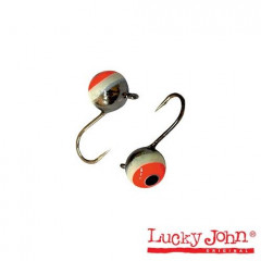 Мормышка вольф. Lucky John ШАР с петел. и глаз. 040мм/1B